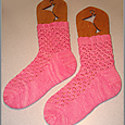 Cabin Cove Hourglass Eyelet Socks