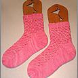 Cabin Cove Hourglass Eyelet Socks
