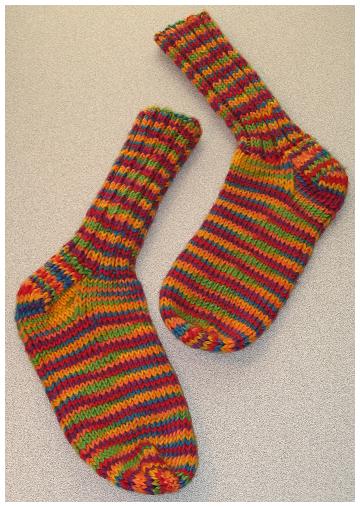 First Pair Of Socks