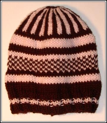 Pink & Brown Hat