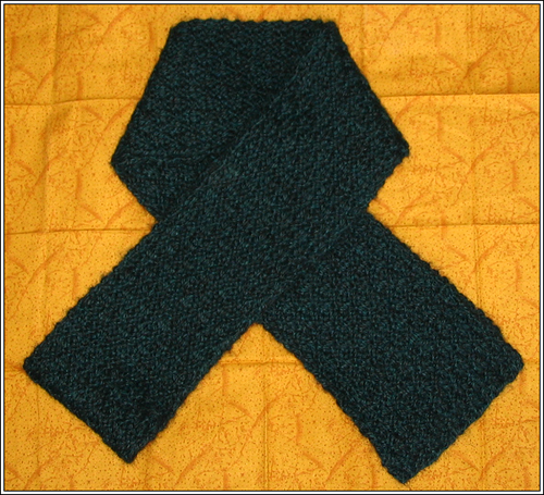 Forest Green Alpaca Scarf