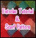 Entrelac scarf Tutorial